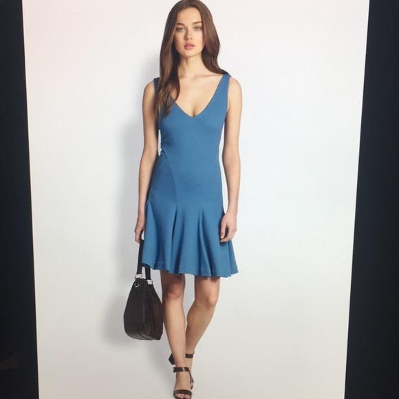 bfbf463324f1 Ralph Lauren Blue Label Dresses | Blue Jersey Pleated Dress | Poshmark